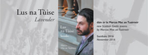 Three events to launch <i>Lus na Tùise / Lavender</i>