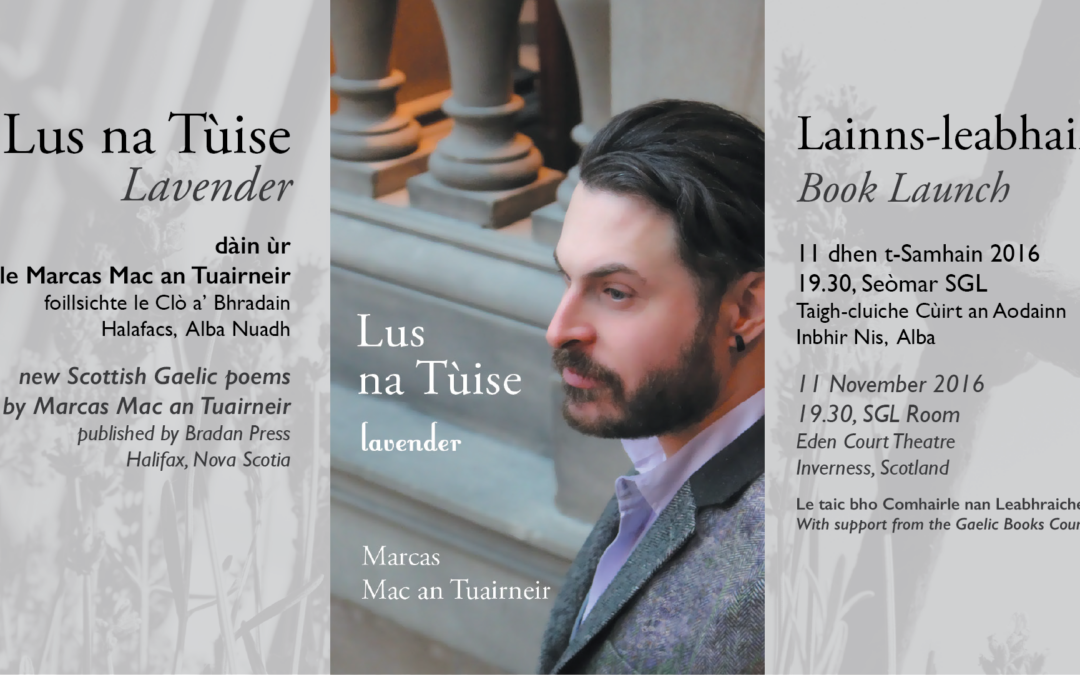 Lus na Tùise / Lavender book launch