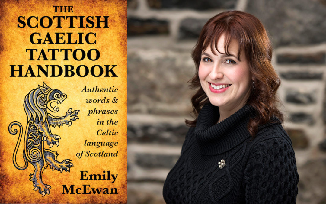 The Scottish Gaelic Tattoo Handbook at Atlantic Craft Trade Show