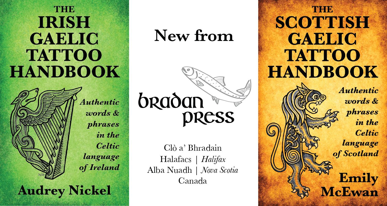 Bradan Press - Irish and Scottish Gaelic tattoo books