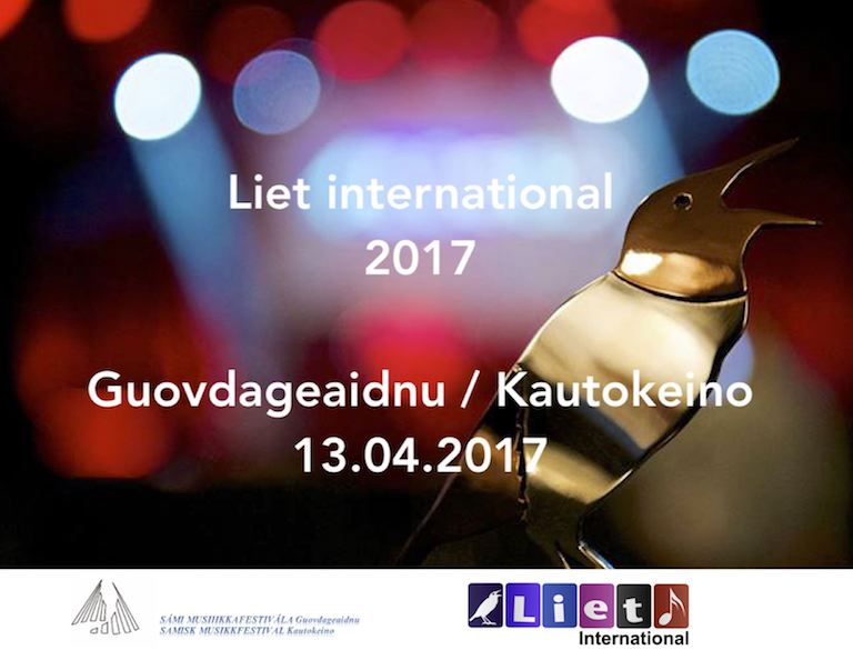 Liet International on 13 April 2017 in Kautokeino, Norway