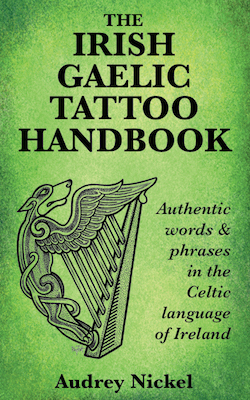 The Irish Gaelic Tattoo Handbook book cover