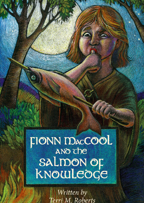 LEABHAR ÙR / NEW BOOK: Fionn MacCool and the Salmon of Knowledge