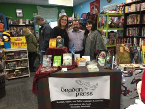 Bradan Press authors at Cape and Cowl Comics, Lower Sackville, NS