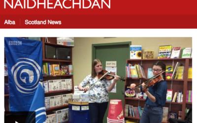 Bradan Press author Dr. Emily McEwan interviewed by BBC Alba