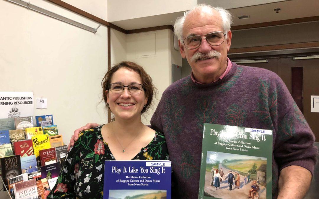 Bradan Press at the NS Social Studies Teachers Association Conference