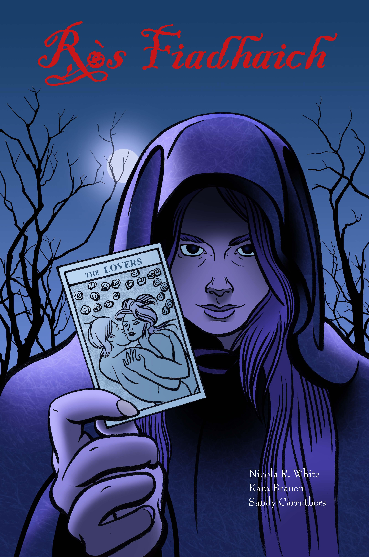 Ròs Fiadhaich - Wild Rose graphic novel cover