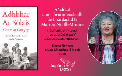 November Book Launch Events: Adhbhar Ar Sòlais