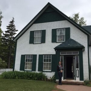Visiting Green Gables Heritage Place, a reconstruction by Parks Canada of the imaginary Green Gables from L. M. Montgomery's books