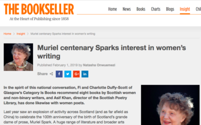 Adhbhar Ar Sòlais recommended by Scottish Poetry Library Director in The Bookseller