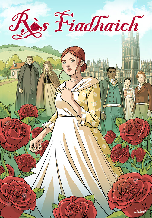 Ròs Fiadhaich graphic novel cover