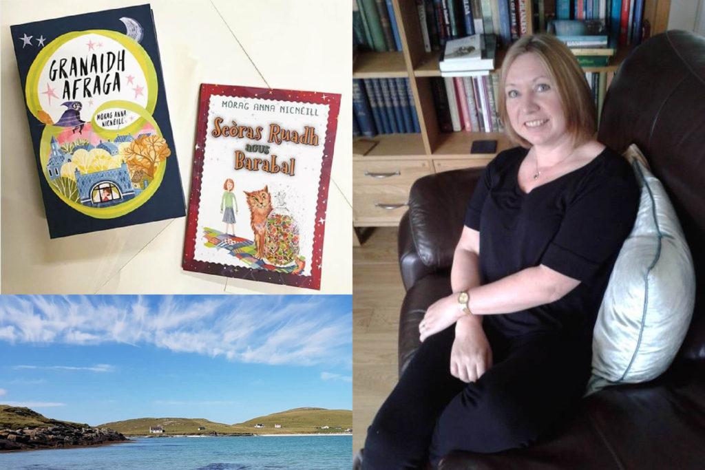 Morag Anna NicNèill, translating Anne of Green Gables into Gaelic as Anna Ruadh
