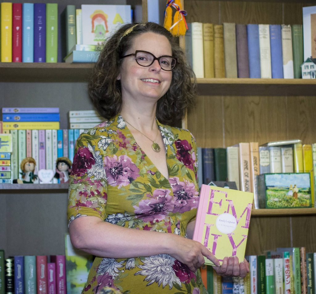 Lisa Doucet, the first to suggest that Bradan Press translate Anne of Green Gables into Gaelic