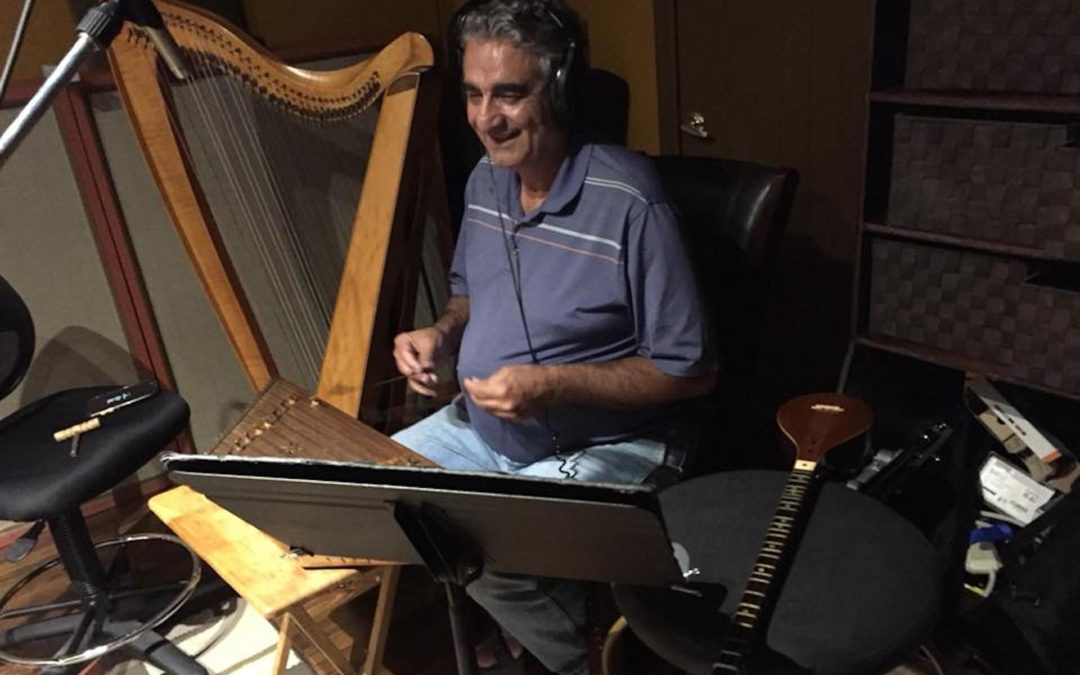 Saeed Foroughi playing 500 year old Ottoman tunes on hammered dulcimer to accompany readings for the audiobook version of Ràithean airson Sireadh / Seasons for Seeking, poems of Rumi translated into Gaelic.