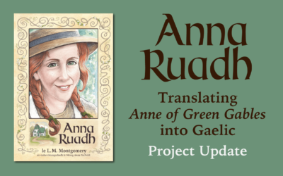 A Reminder to All Anna Ruadh Backers