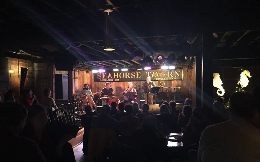 Performers at the Seahorse Tavern
