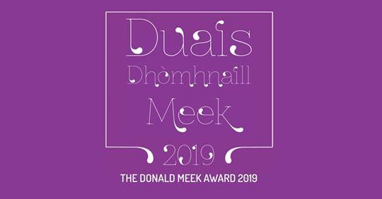 Donald Meek Award graphic