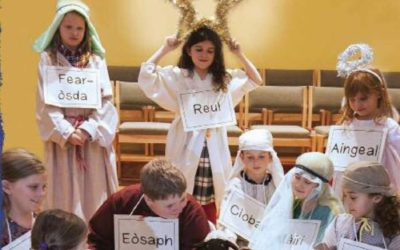 Bradan Press Author Writes Gaelic Nativity Play