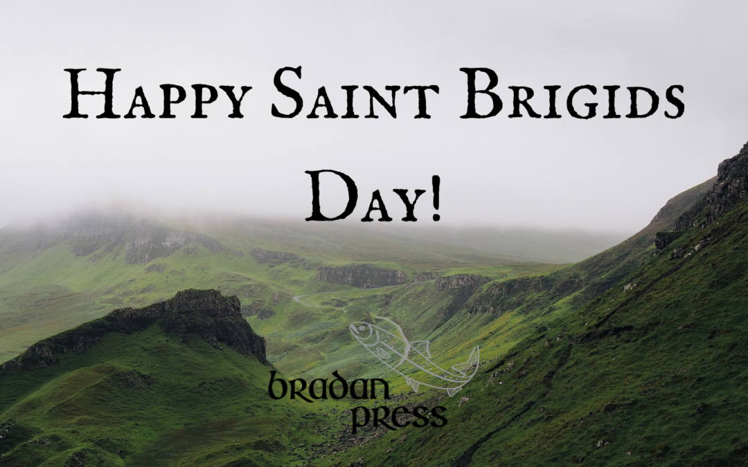 Happy St. Brigid's Day!