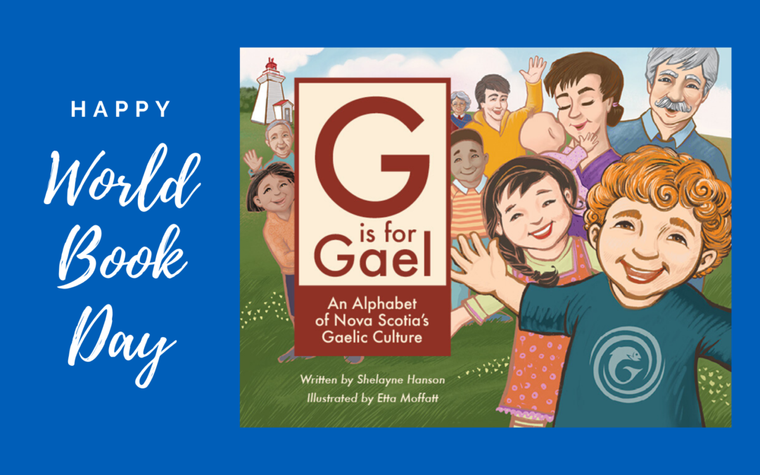 Happy World Book Day – Celebrate G is for Gael!