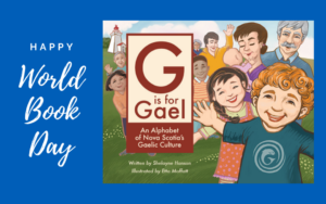 Happy World Book Day - Celebrate G is for Gael!