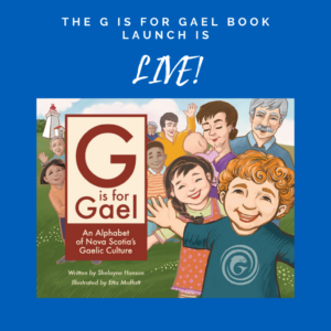 The G is for Gael Livestream Book Launch!