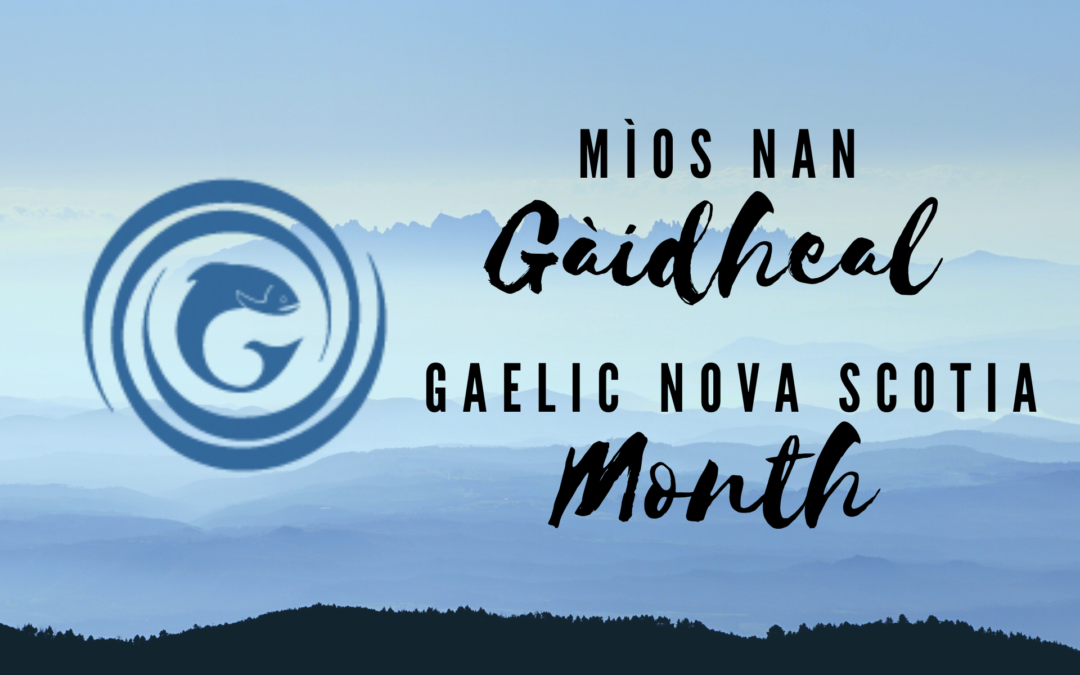 Gaelic NS Month: Upcoming Books