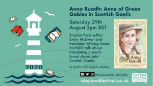 Bringing Anne to the Digital Islay Books Festival
