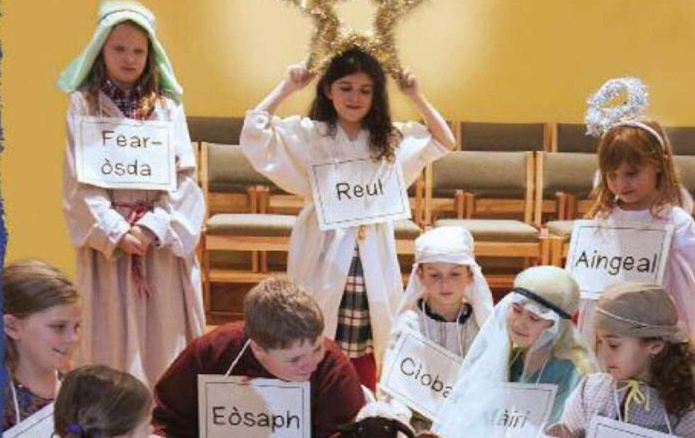 Bradan Press Author Writes Gaelic Nativity Play