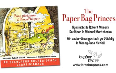 Bana-phrionnsa a' Phoca Phàipeir – The Paper Bag Princess in Scottish Gaelic