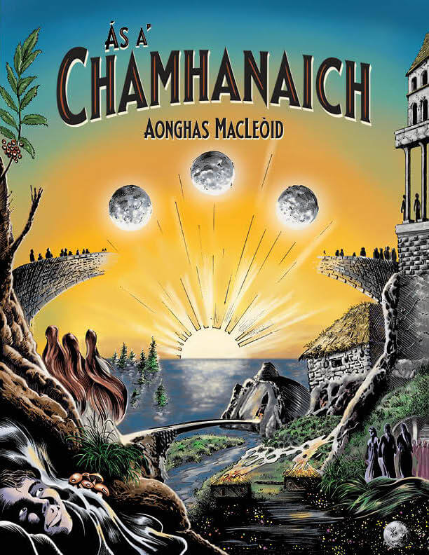 Ás a' Chamhanaich graphic novel cover