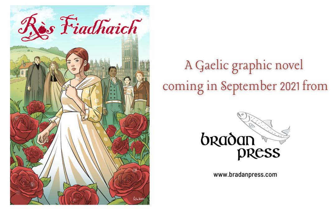 Cover Reveal: Ròs Fiadhaich | Wild Rose!