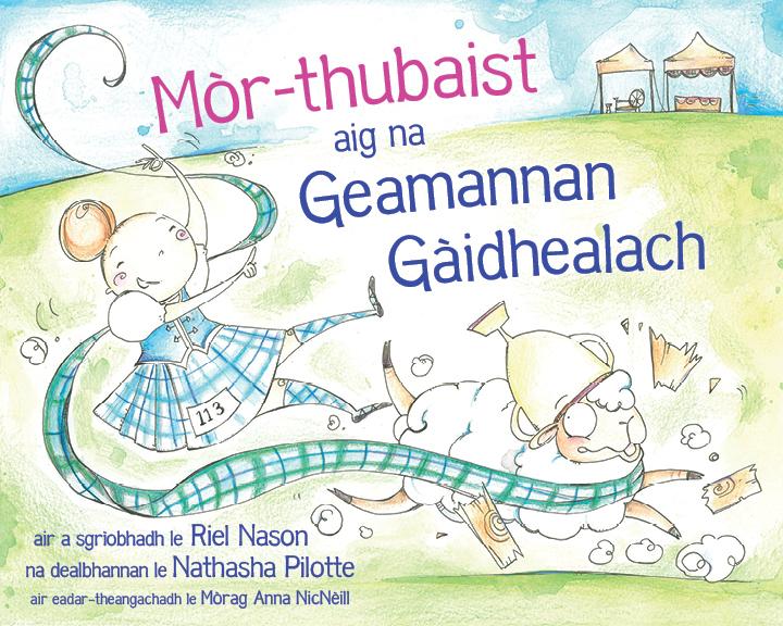 Mòr-thubaist aig na Geamannan Gàidhealach book cover