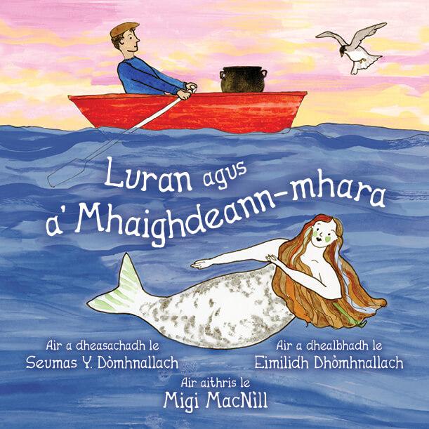 Luran agus a' Mhaighdeann-mhara book cover
