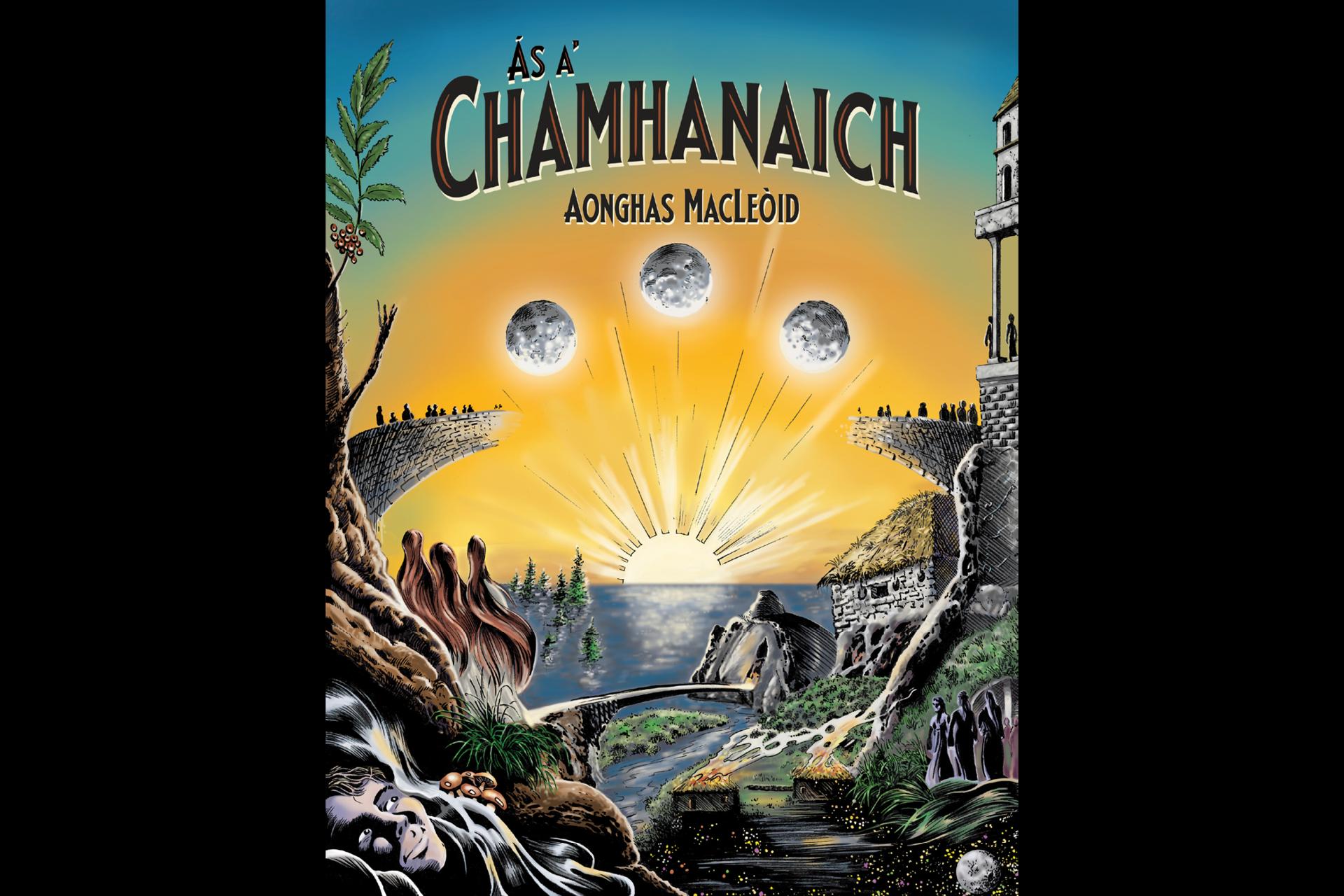 Ás a' Chamhanaich, a Gaelic graphic novel by Angus MacLeod of Cape Breton