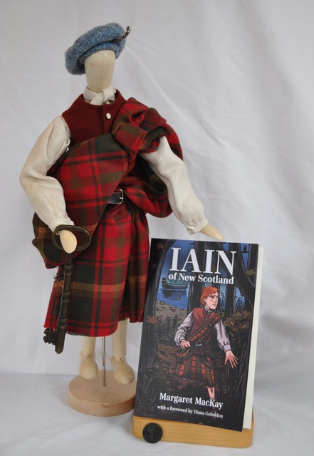 An 18th-century Highlander's costume in miniature