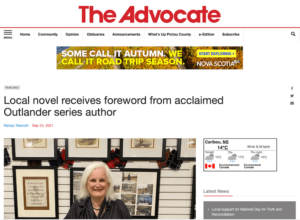 Pictou Advocate story about Iain of New Scotland
